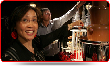 Christmas Parties - Graduations - Themed Events - Fetes - Business Events - Chocolate Fountains